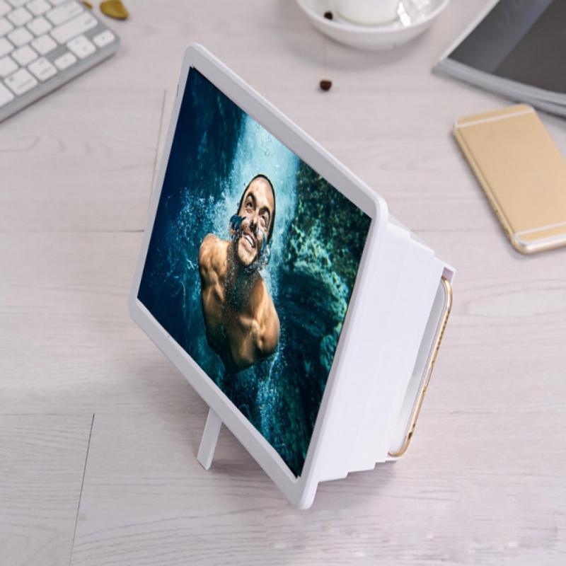 thumbnail 6 - 3D Folding Cell Phone HD Screen Magnifier Video Amplifier Stand Brackets Holder